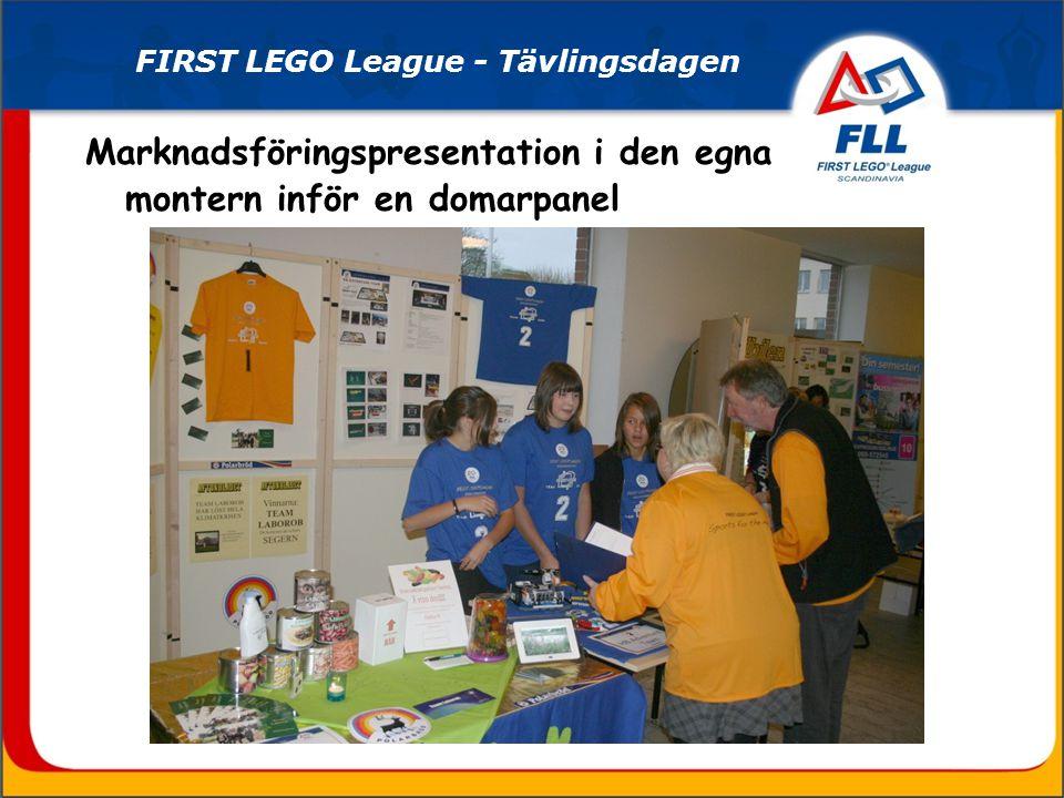 En smart robot ska konstrueras… FIRST LEGO League - Projektperioden