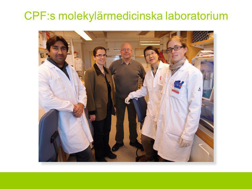 CPF:s molekylärmedicinska laboratorium