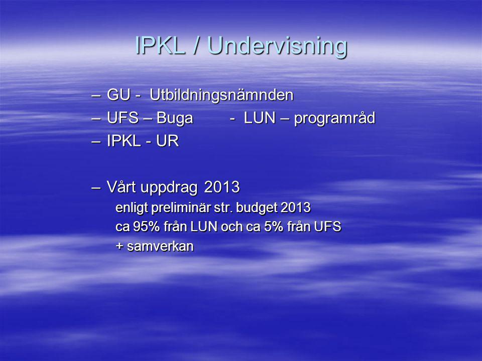 IPKL / UR Möten 12/2, 12/3, 9/4 och 7/5 Ordf.