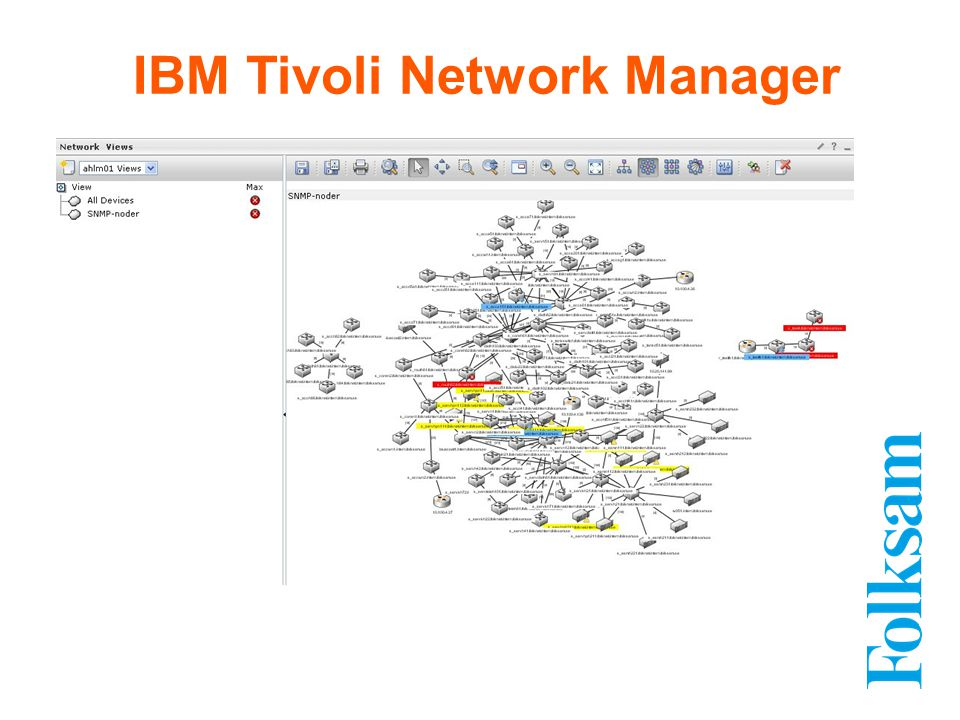 IBM Tivoli Network Manager