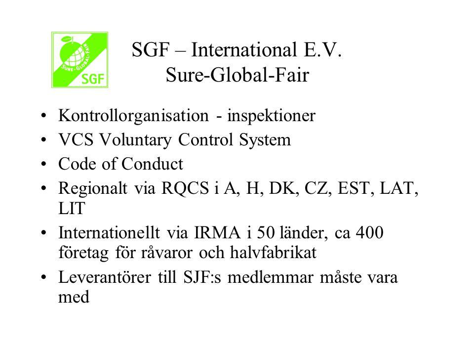SGF – International E.V.
