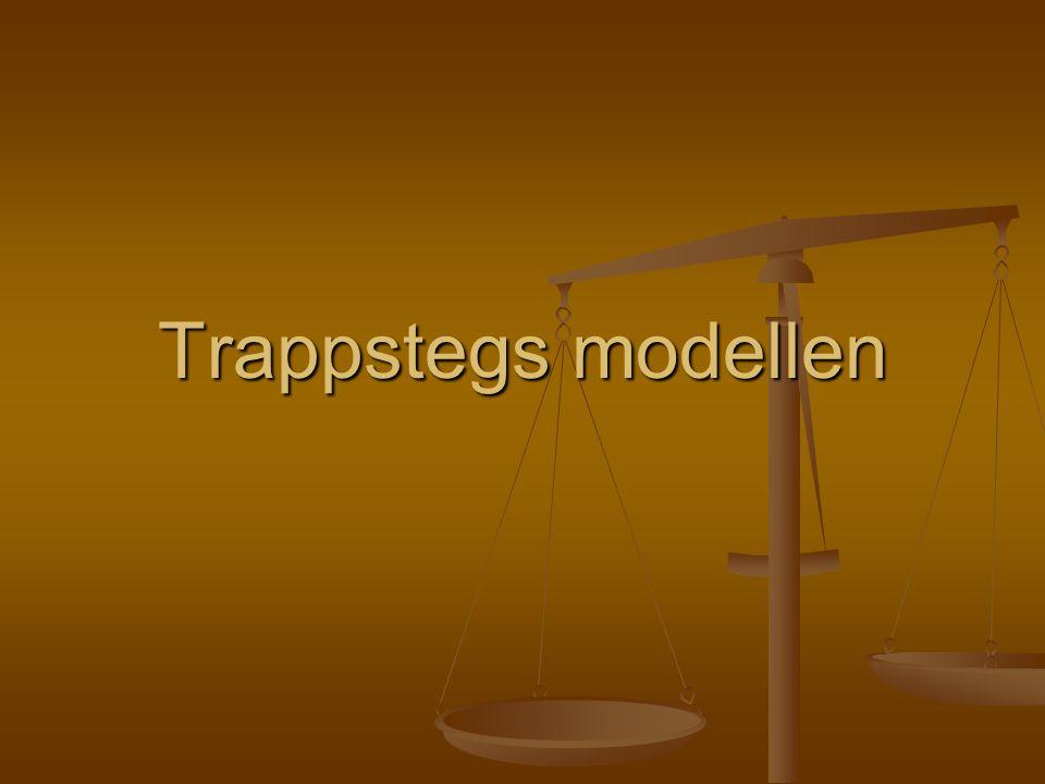 Trappstegs modellen