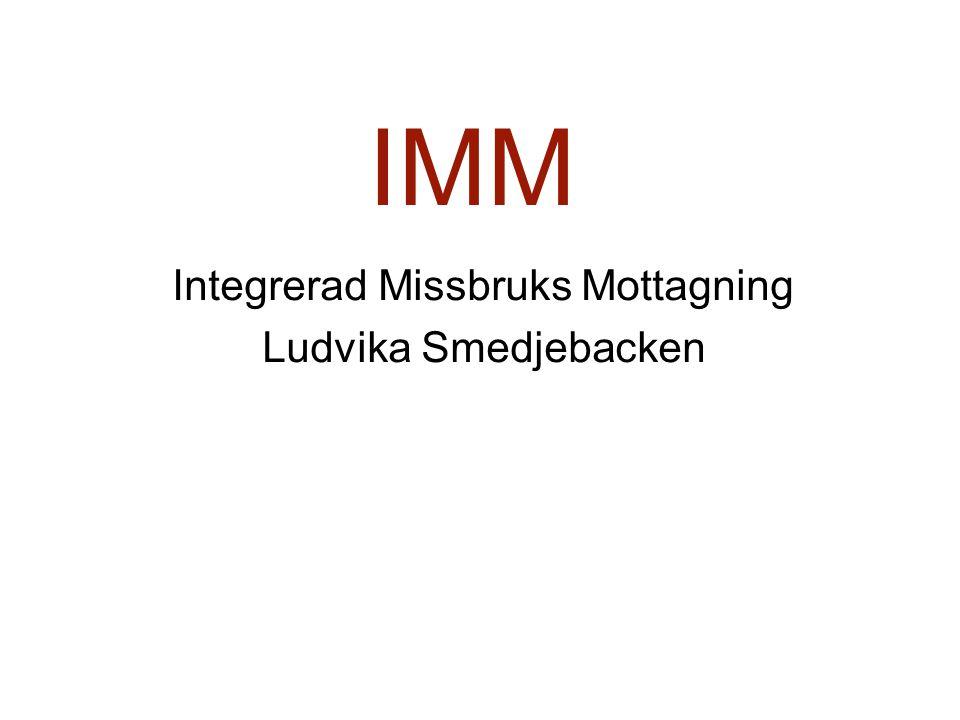 IMM Integrerad Missbruks Mottagning Ludvika Smedjebacken