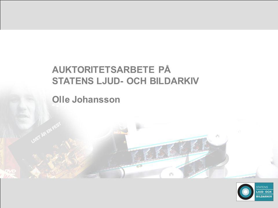 Foto: Ipod/trattgrammofon AUKTORITETSARBETE PÅ STATENS LJUD- OCH BILDARKIV Olle Johansson