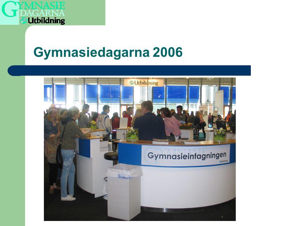 Gymnasiedagarna 2006