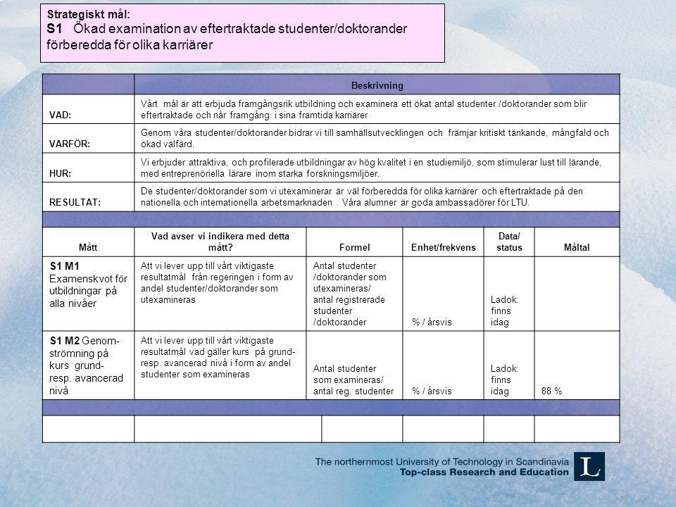 Fortsättning från föregående HandlingsplanExakt vad producerar handlingsplanen (resultat).