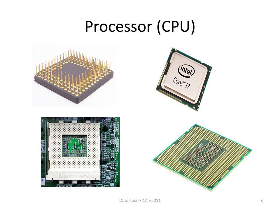 Processor (CPU) Datorteknik 1A V20116