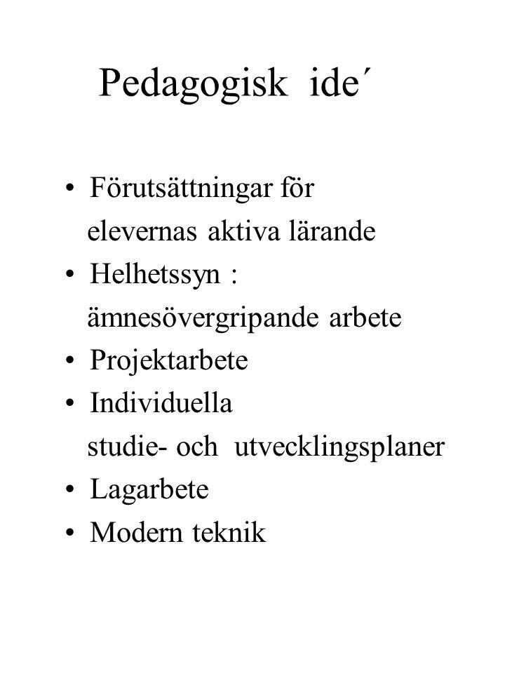 S k o l a 2 0 0 0 Fysisk miljö Pedagogisk idé Organisation Skola 2000 Mattsson konsulter AB