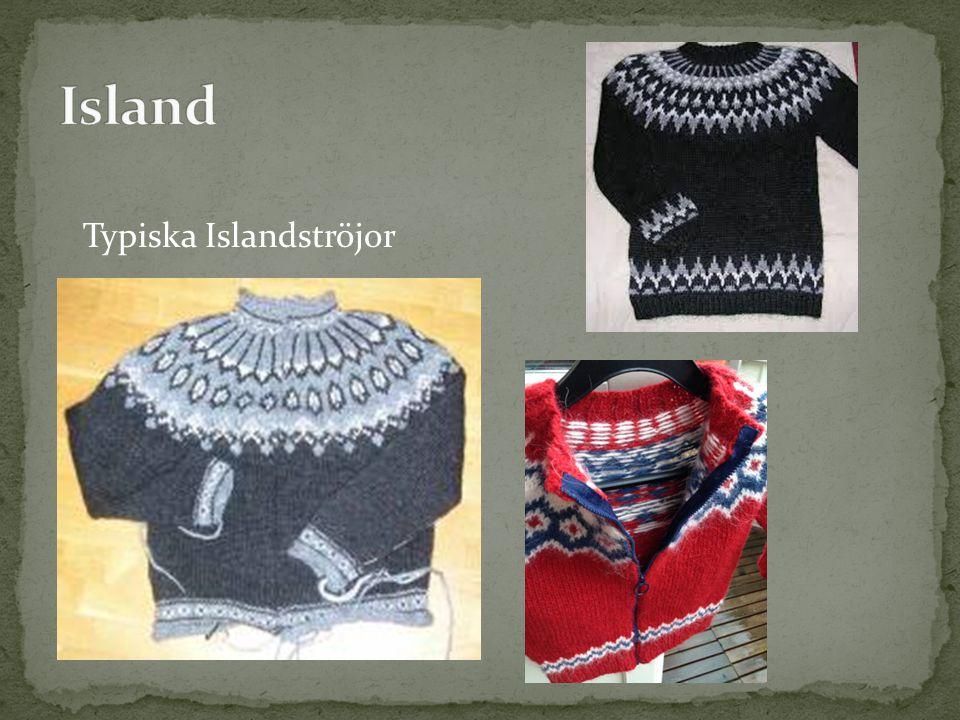 Typiska Islandströjor