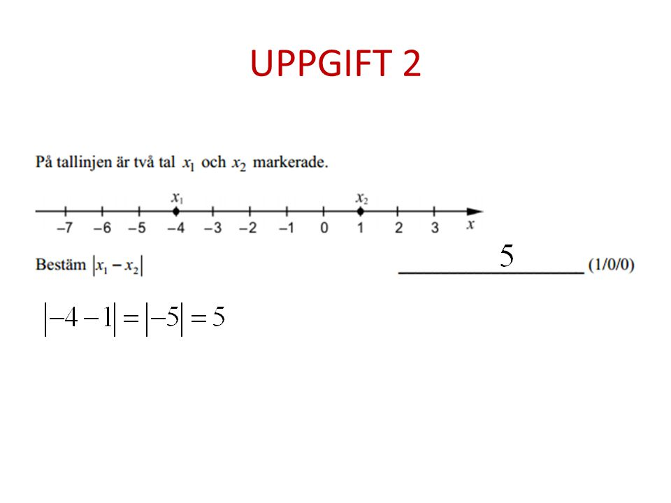 UPPGIFT 2