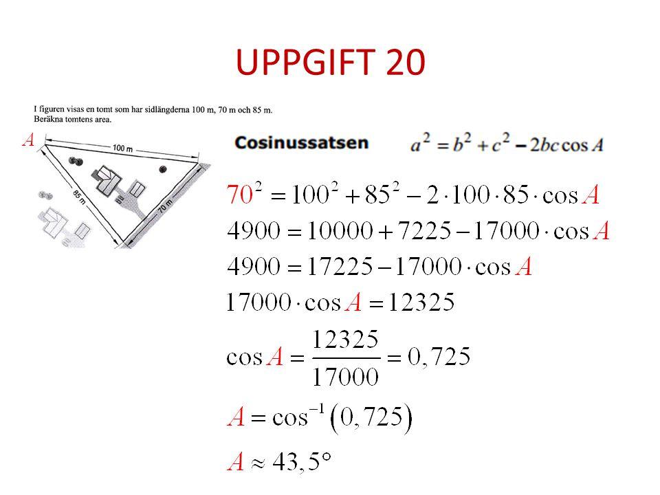 UPPGIFT 20