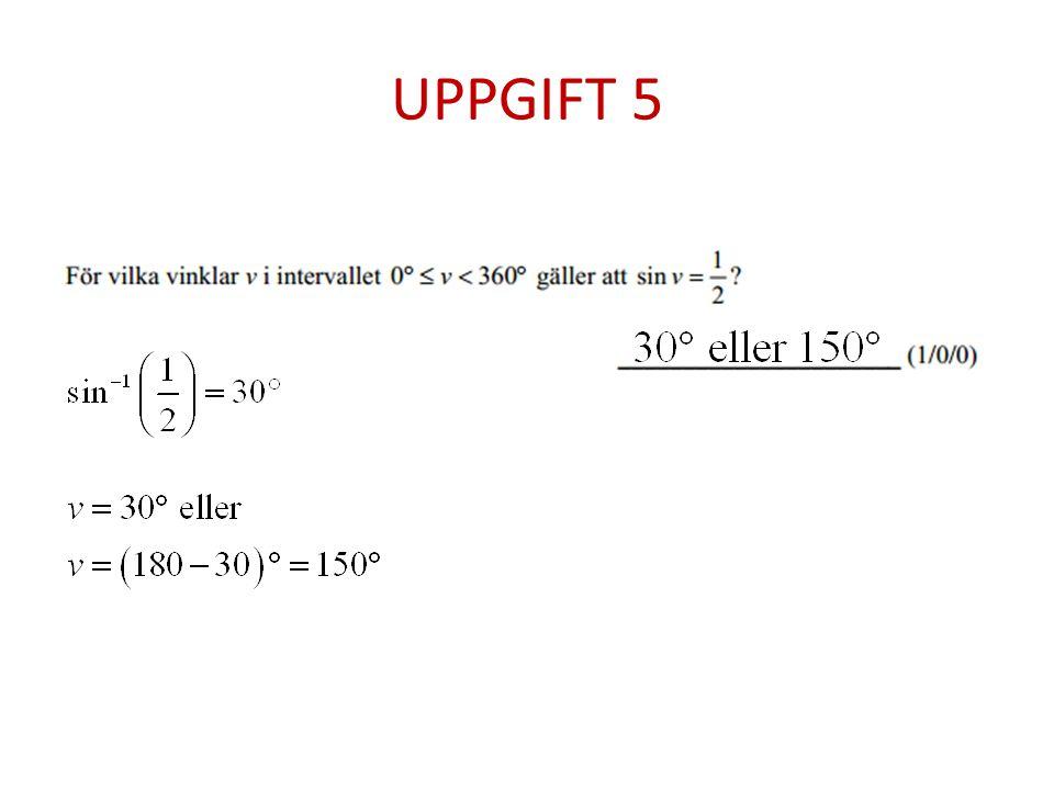 UPPGIFT 5
