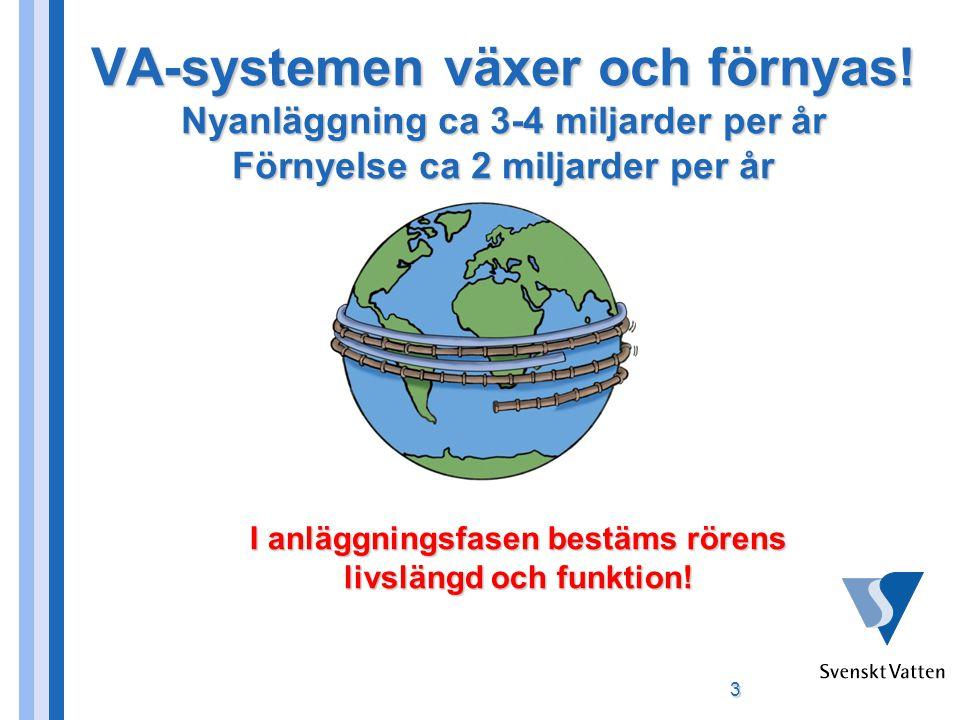 3 VA-systemen växer och förnyas.