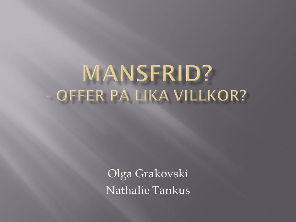 Olga Grakovski Nathalie Tankus