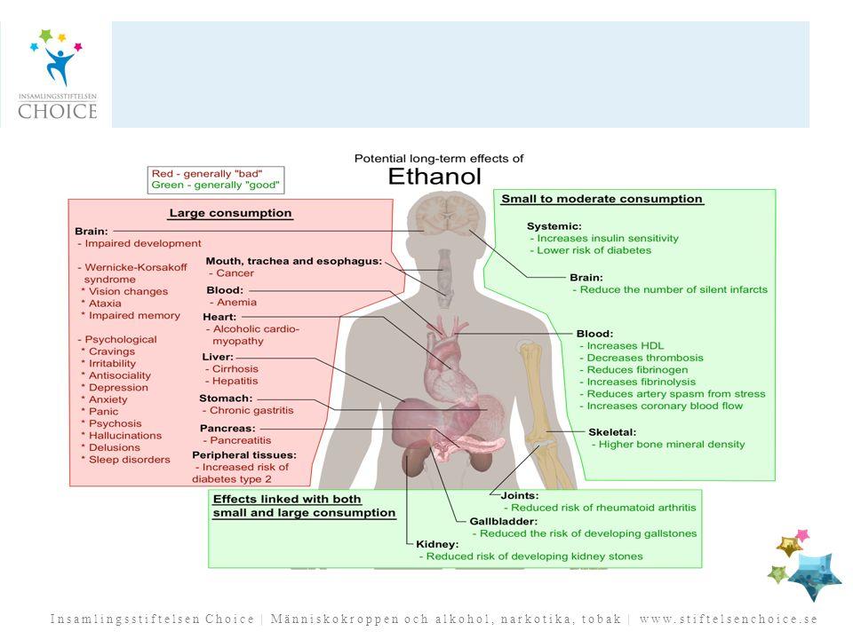 Insamlingsstiftelsen Choice | Människokroppen och alkohol, narkotika, tobak | www.stiftelsenchoice.se