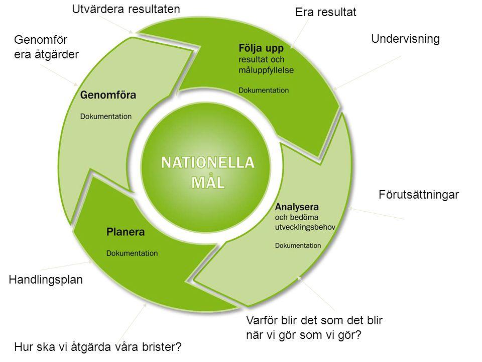 Avgränsa analysen ( inflytande) Vilken förståelse har eleverna av de mål och kunskapskrav de förväntas nå.