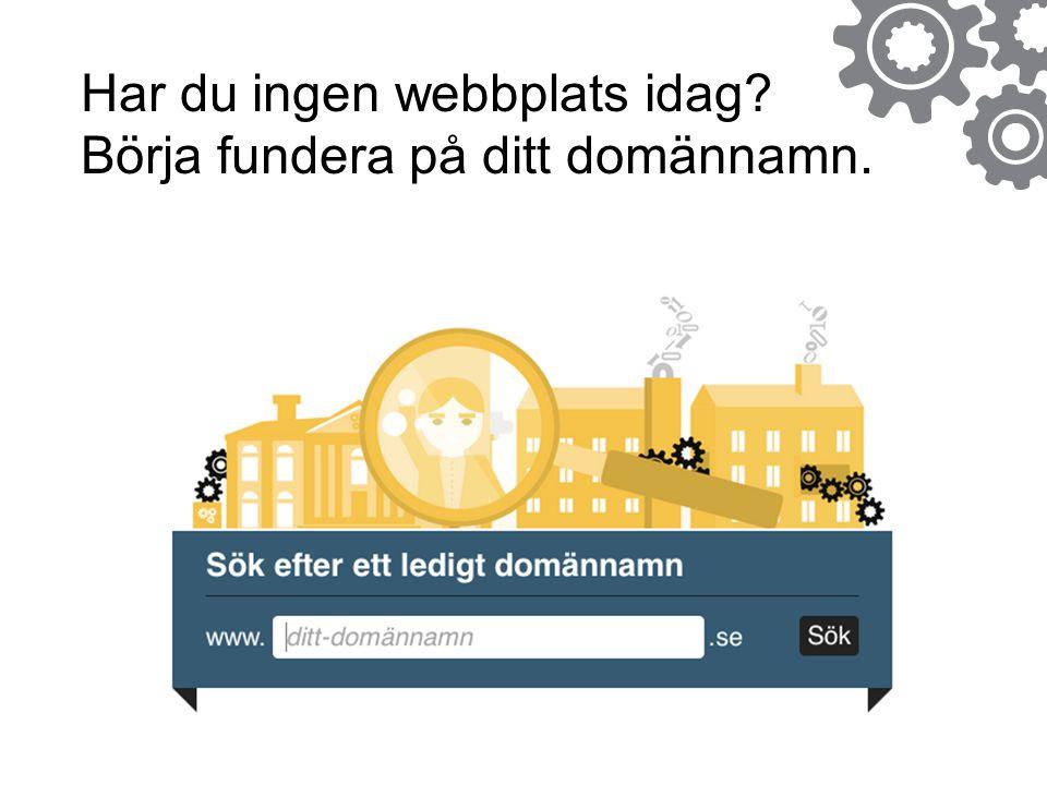 Dagens ämnen Info om.se Info om Webbstjärnan Hur man anmäler ett lag Inspiration och erfarenheter av webbpublicering Arbeta med sin webbplats