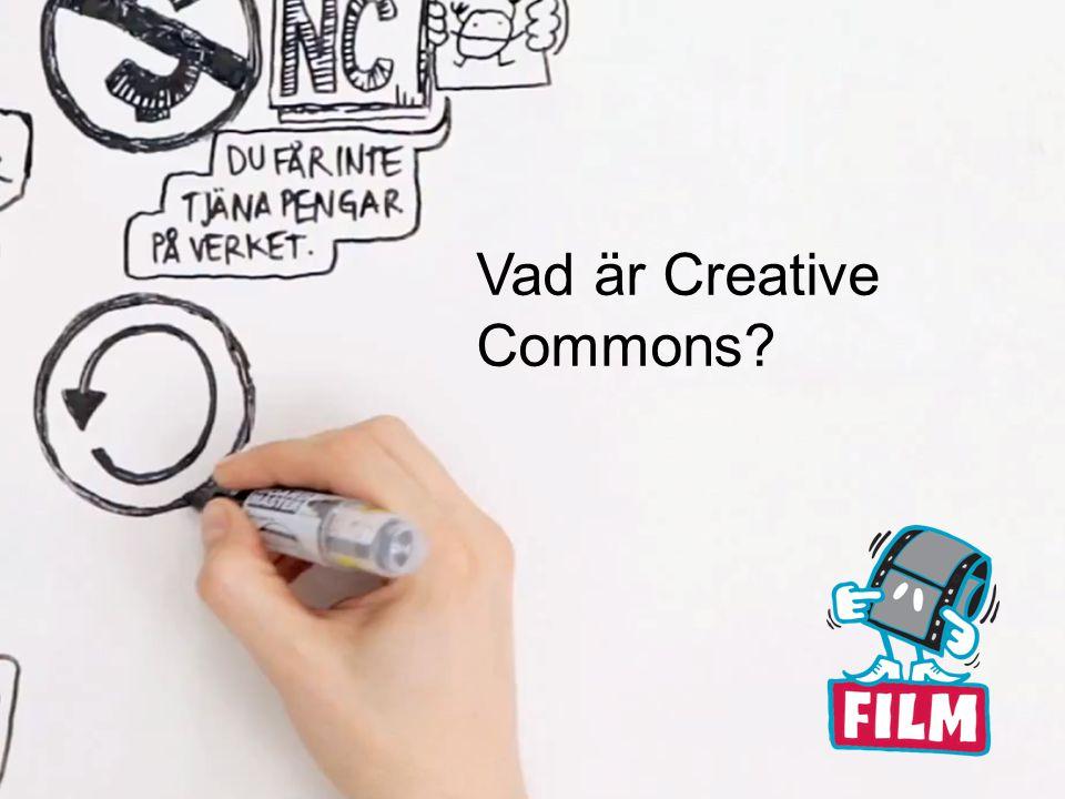Vad är Creative Commons?