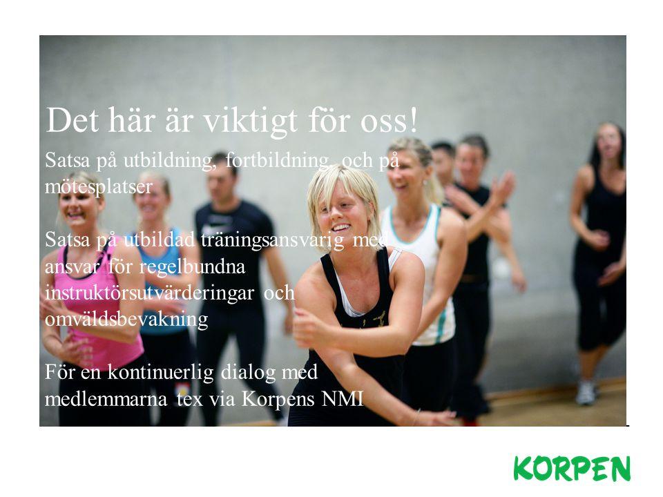 Korpen gör det enkelt för människor att sporta och ha kul tillsammans! Alla är välkomna! Korpens uppdrag Korpen är ett av Sveriges största idrottsförb