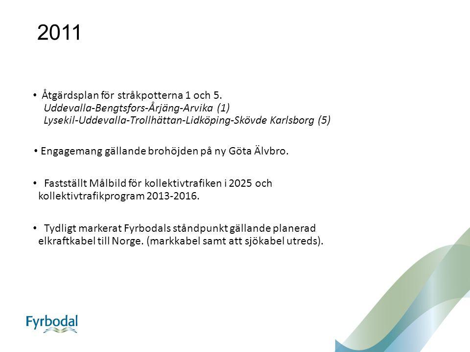 2011 Åtgärdsplan för stråkpotterna 1 och 5.