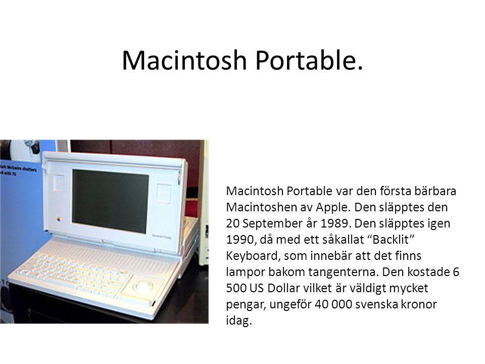 Mac Pro Den första Mac Pro släpptes den 7 Augusti 2006 då den kostade 2 499 US Dollar.