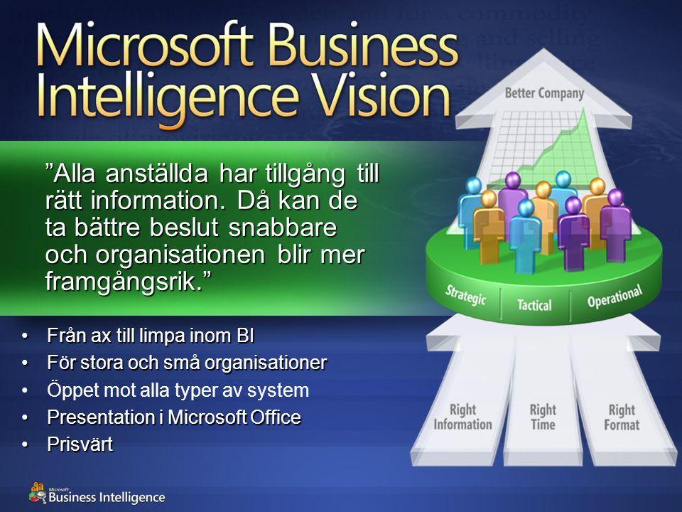 """""""Alla anställda har tillgång till rätt information. Då kan de ta bättre beslut snabbare och organisationen blir mer framgångsrik."""" Från ax till limpa"""