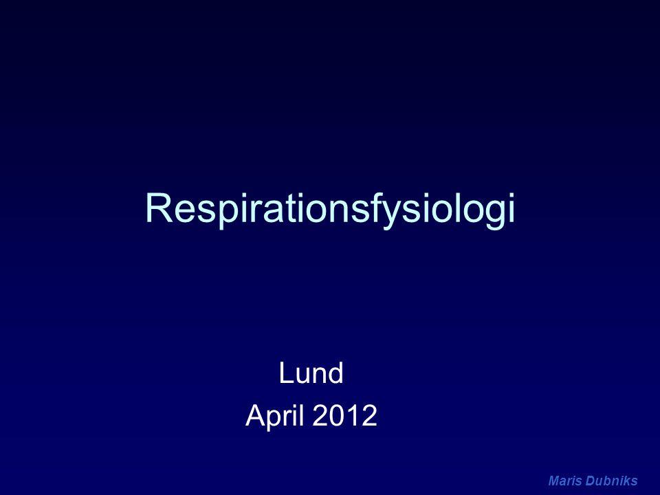 Maris Dubniks Luftvägsavstängning Closing Capacity (CC) CC - lungvolymen där små luftvägar börjar stänga ökar med stigande ålder ingen effekt av anestesi ökar med olika patologiska tillstånd –ödem –KOL etc.