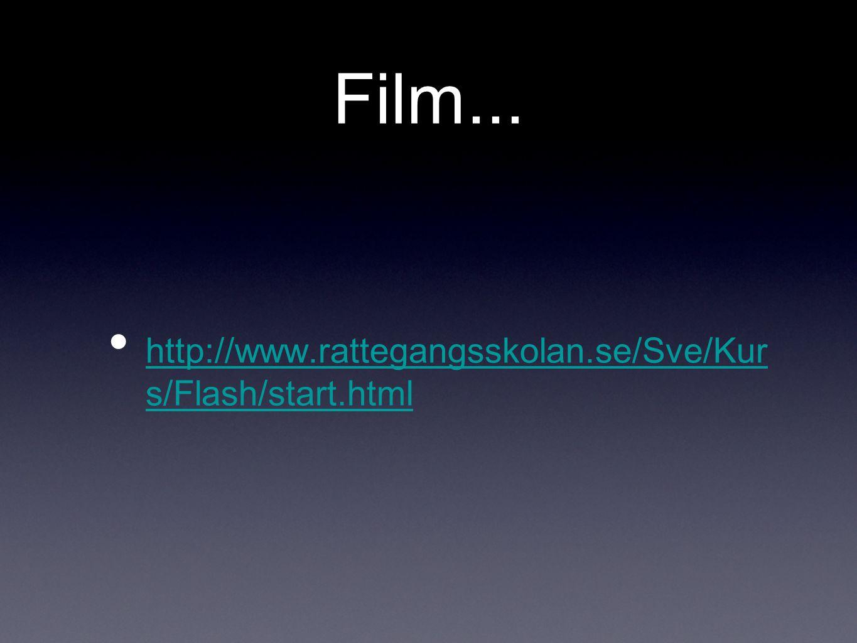 Film... http://www.rattegangsskolan.se/Sve/Kur s/Flash/start.html http://www.rattegangsskolan.se/Sve/Kur s/Flash/start.html