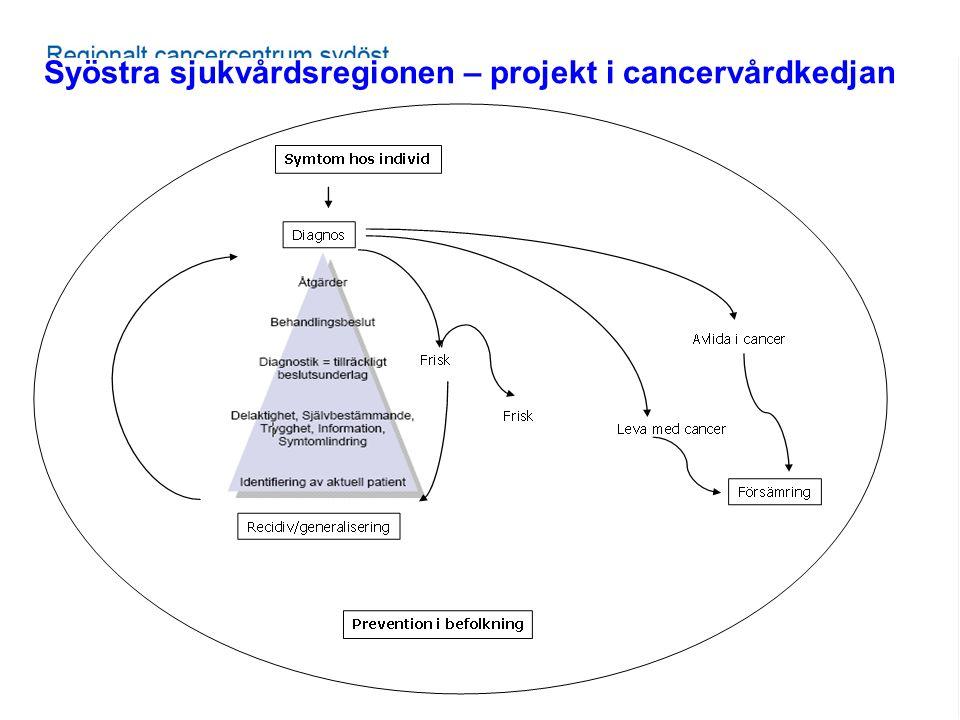 100906, SKL, Andersson Gäre Syöstra sjukvårdsregionen – projekt i cancervårdkedjan