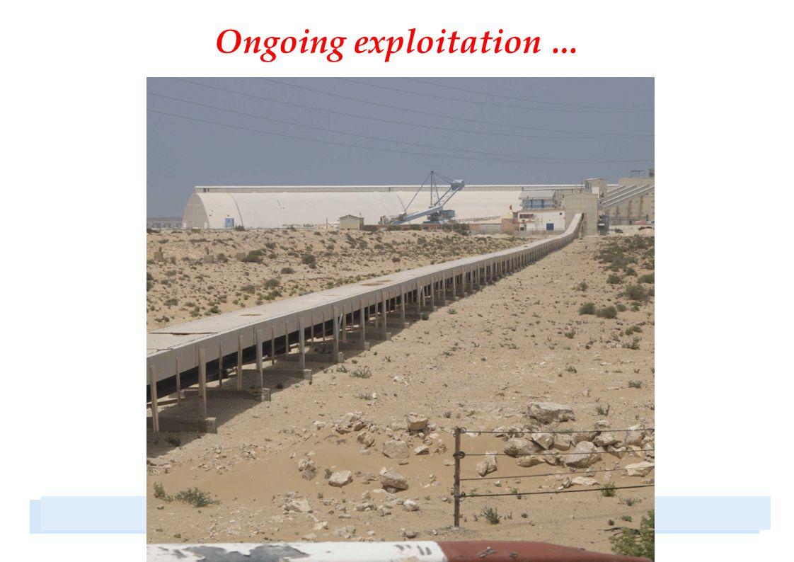 Oil exploration blocks 1999