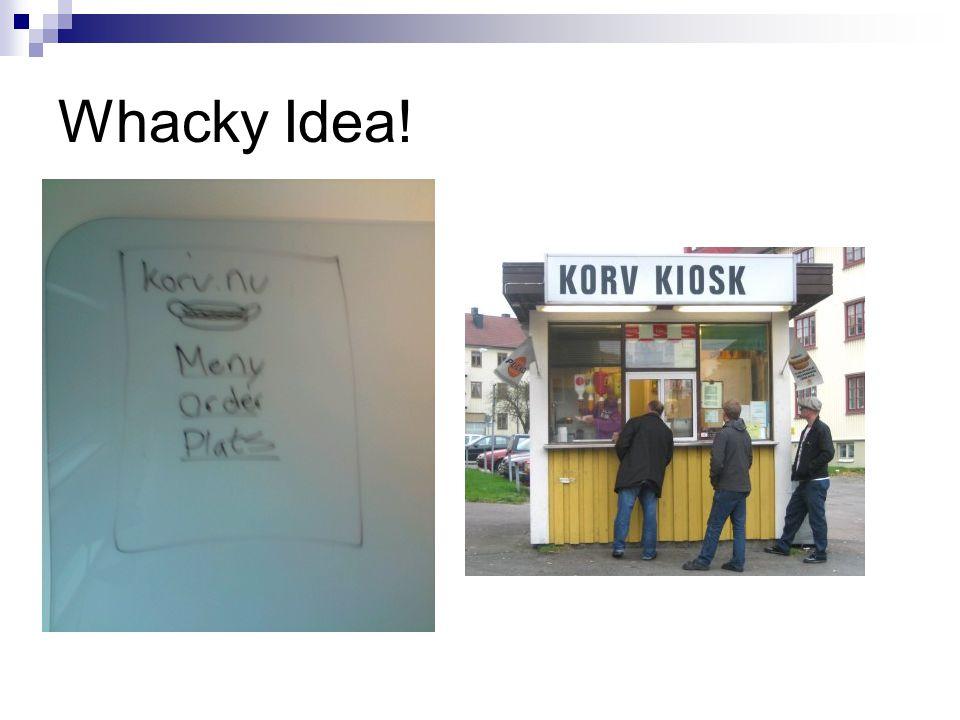 Whacky Idea!
