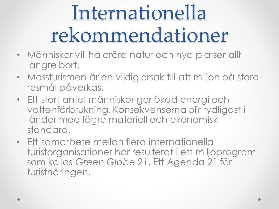 Turistnäringens ekonomi I Sveriges nationalräkenskaper beräknas turistnäringens effekt på ekonomin och sysselsättningen.