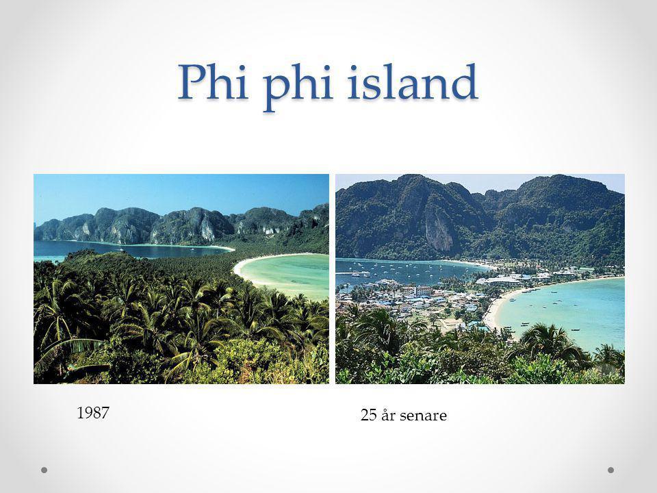 Ekoturism Är en småskalig turism som ställer krav på både resenären och arrangören.