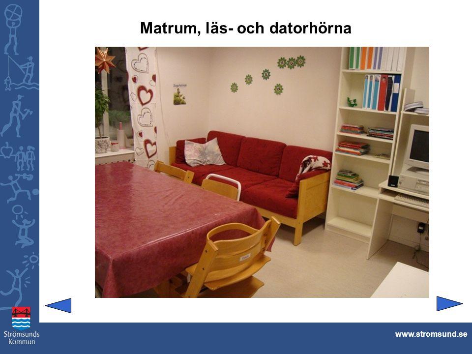 Matrum, läs- och datorhörna www.stromsund.se
