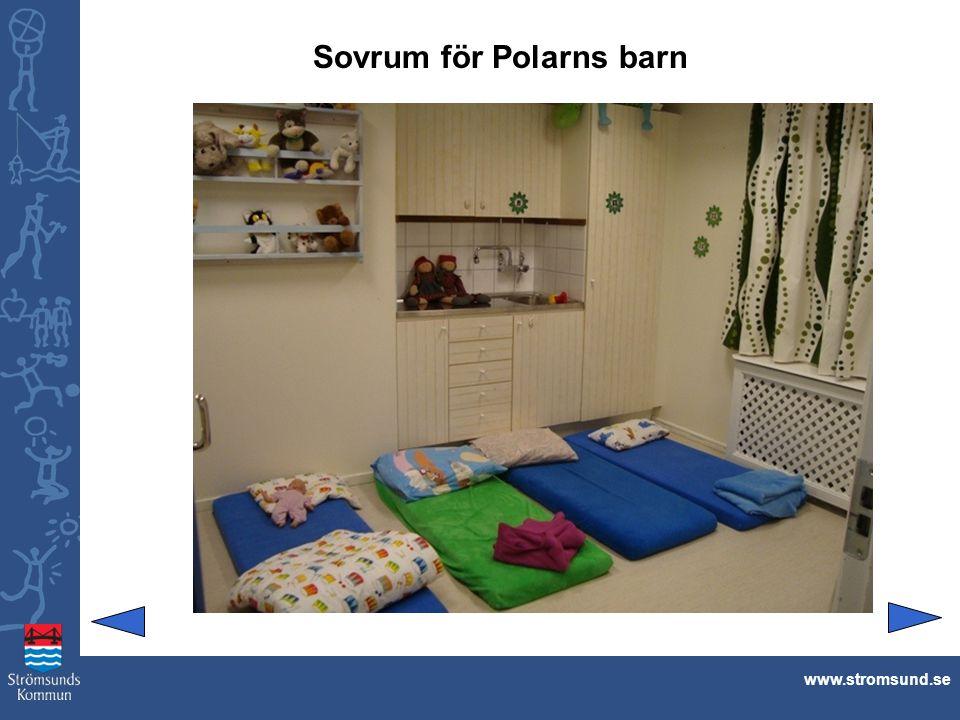 Sovrum för Polarns barn www.stromsund.se