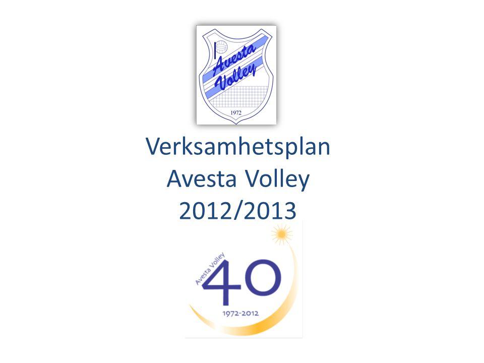 Verksamhetsplan Avesta Volley 2012/2013
