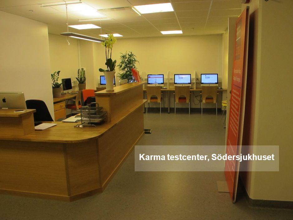 Karma testcenter, Södersjukhuset