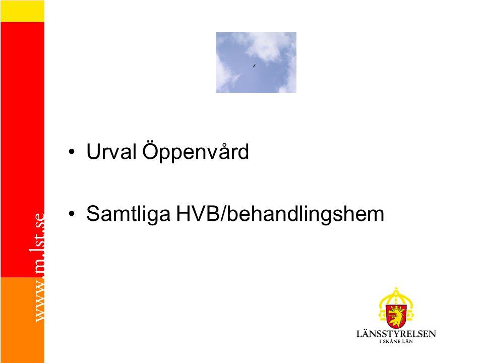 Handläggning och Dokumentation i alla kommuner Kommunernas Riktlinjer Brukarna kommer till tals
