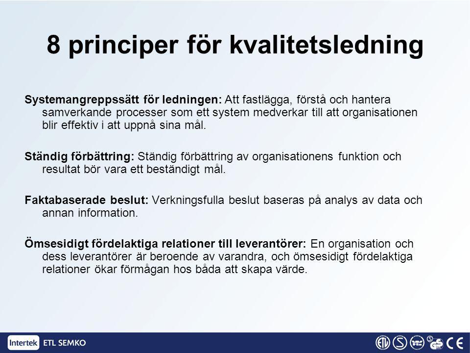 Systemangreppssätt för ledningen: Att fastlägga, förstå och hantera samverkande processer som ett system medverkar till att organisationen blir effekt
