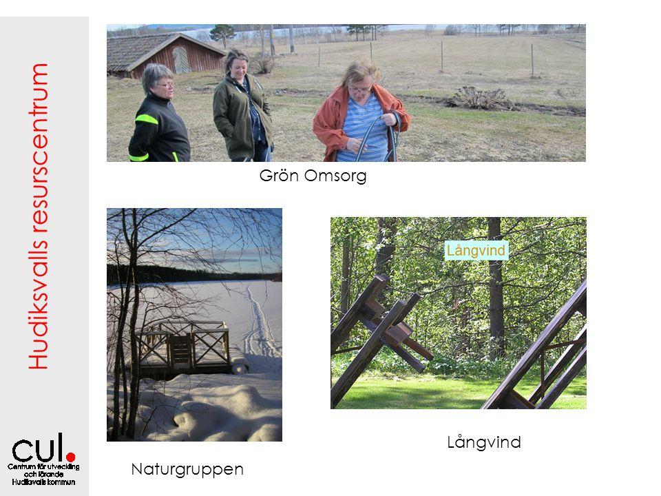 Hudiksvalls resurscentrum Långvind Naturgruppen Grön Omsorg