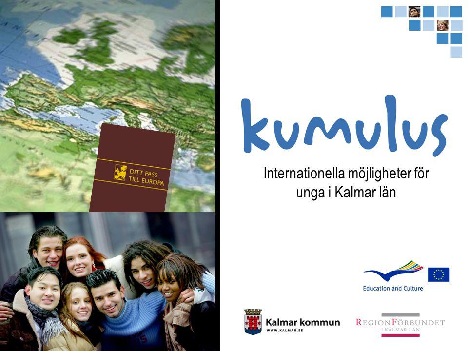 Internationella möjligheter för unga i Kalmar län