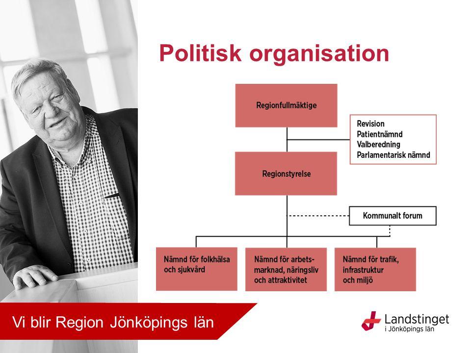 Politisk organisation Vi blir Region Jönköpings län