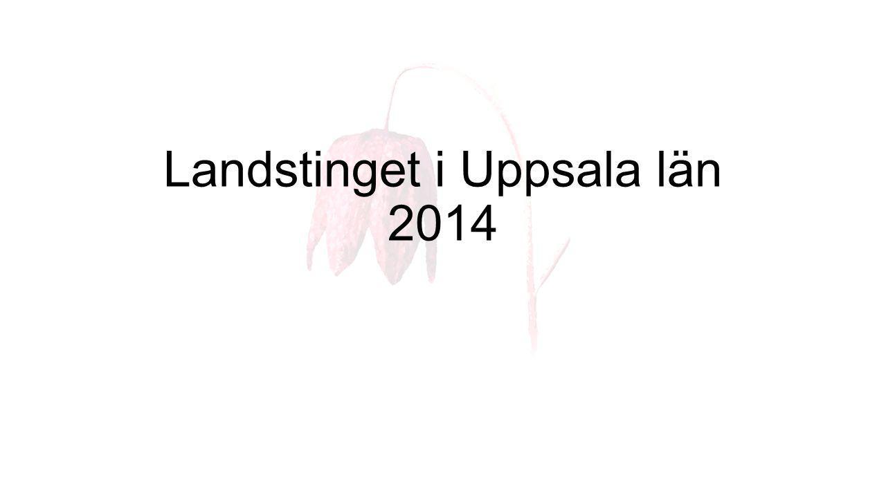 Länskarta Åtta kommuner ingår i Uppsala län. Totalt bor cirka 347 000 personer i länet.