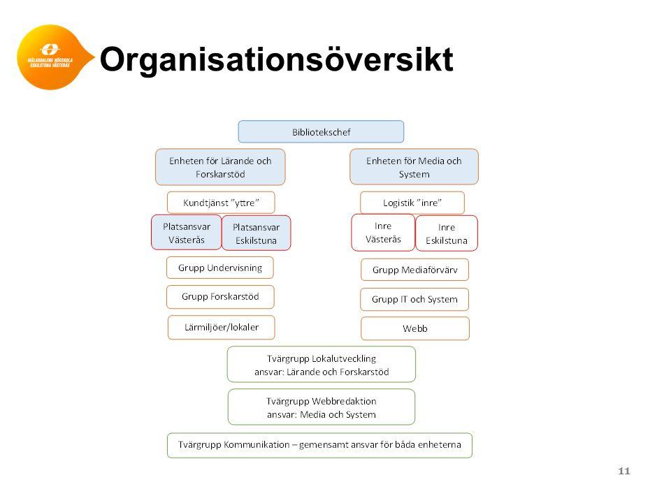 Organisationsöversikt 11