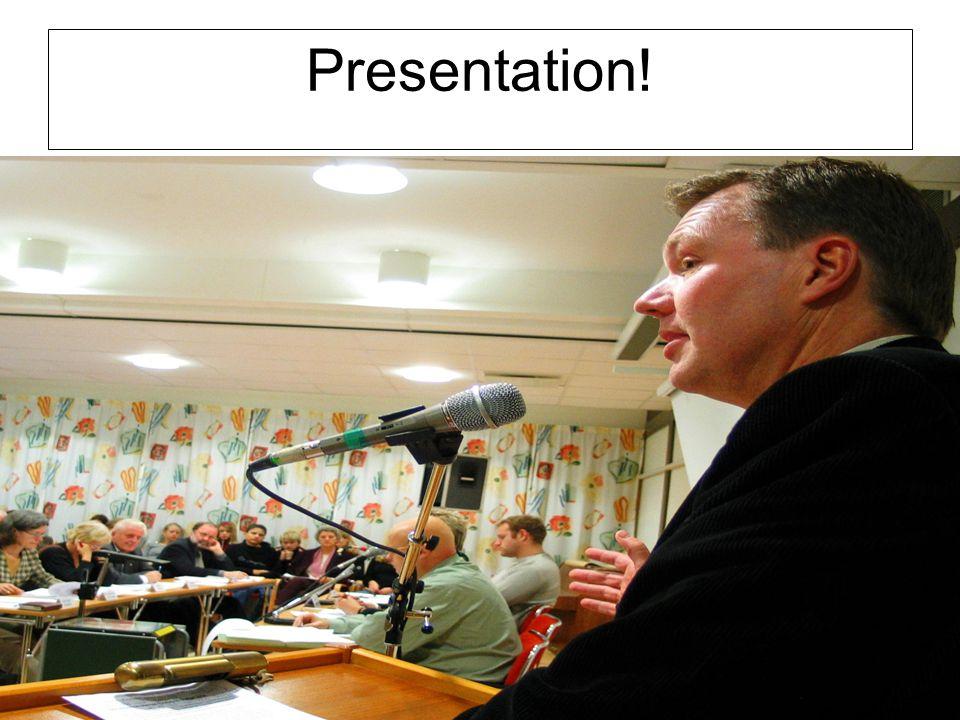 Presentation!