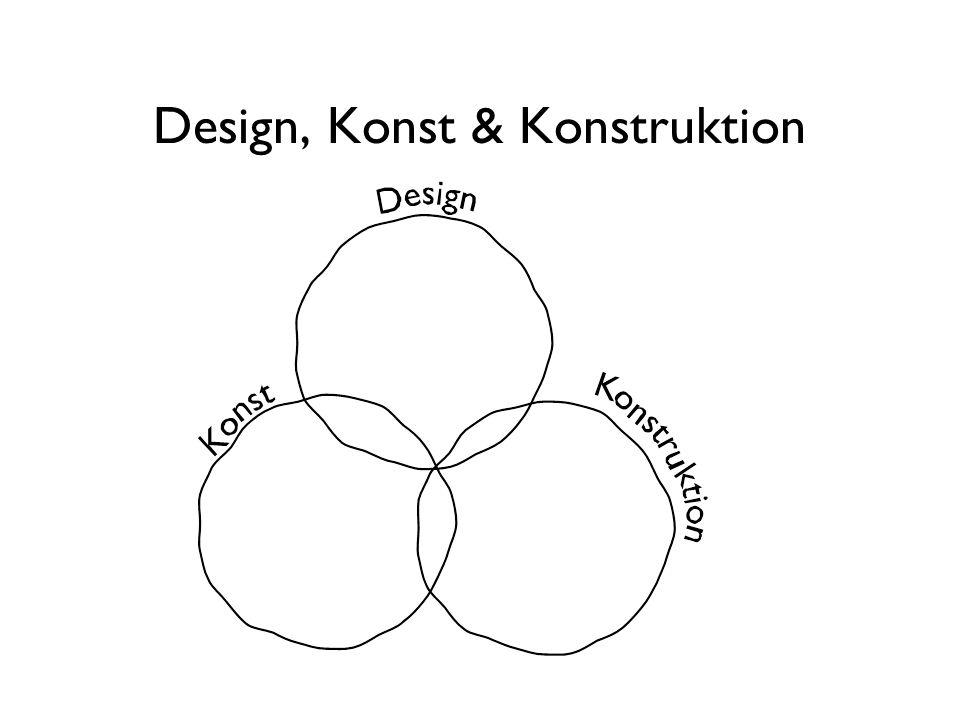 Design, Konst & Konstruktion
