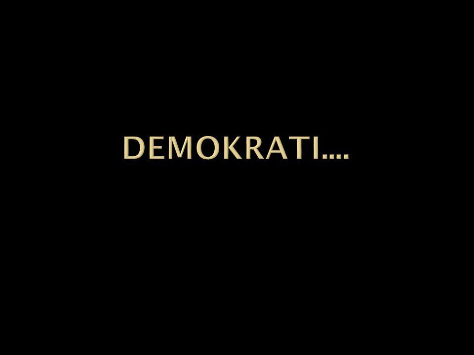  Läs texten om demokrati (2.1)  Svara på frågorna som hör till.