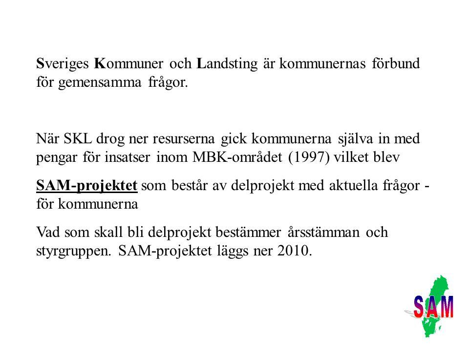 Sveriges Kommuner och Landsting är kommunernas förbund för gemensamma frågor.