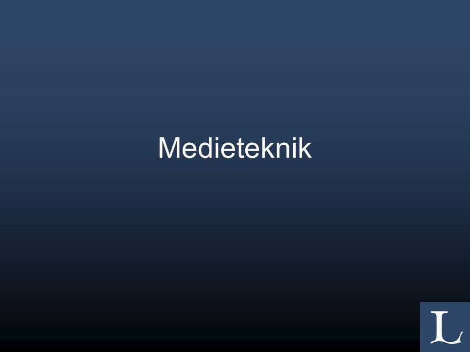 Medieteknik