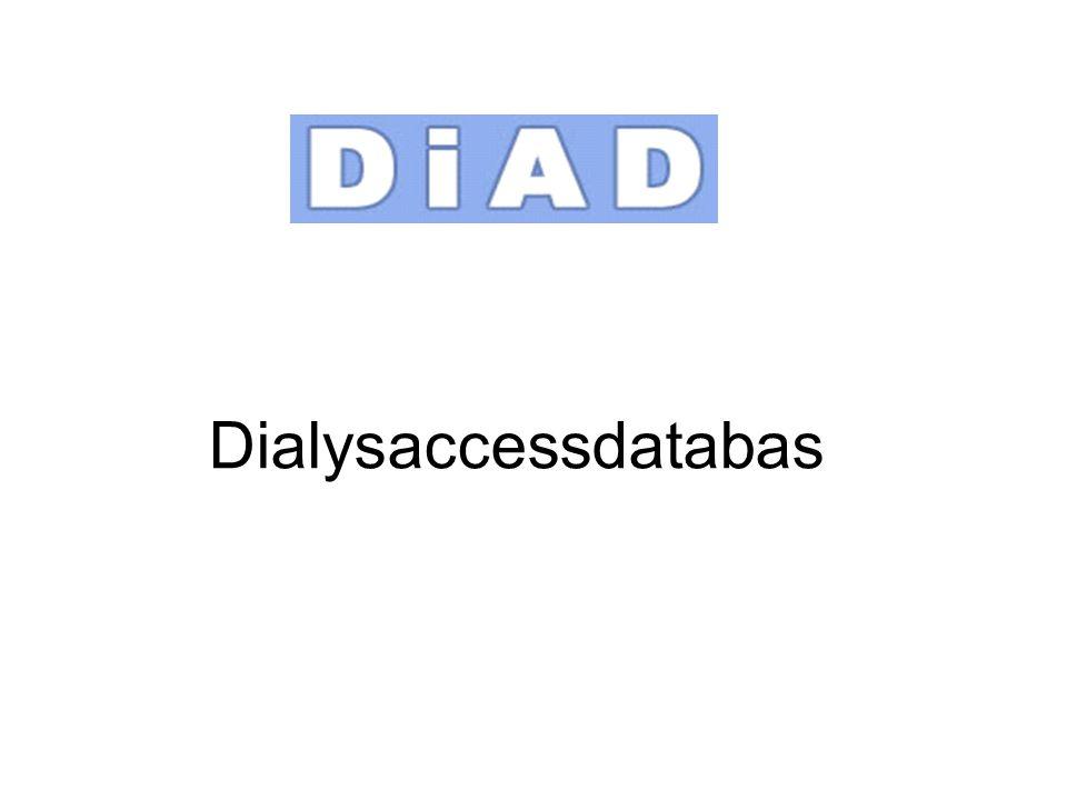 Dialysaccessdatabas
